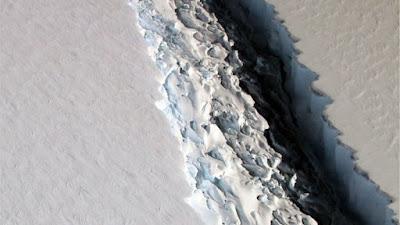 Grande iceberg está se soltando na Antártida e pode aumentar nível dos mares