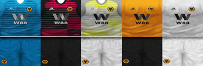 PES 6 Kits Fulham Season 2018/2019 by VillaPilla