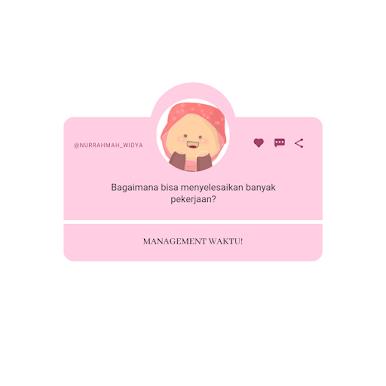 management waktu ibu