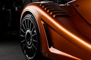 Morgan Aero GT (2018) Front Wing Detail
