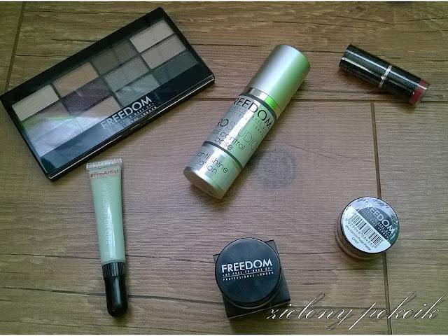 Kosmetycznie: Kosmetyki do makijażu Freedom Makeup!