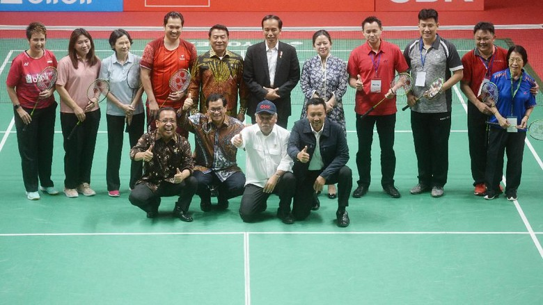 Presiden Jokowi Resmikan Istora Senayan