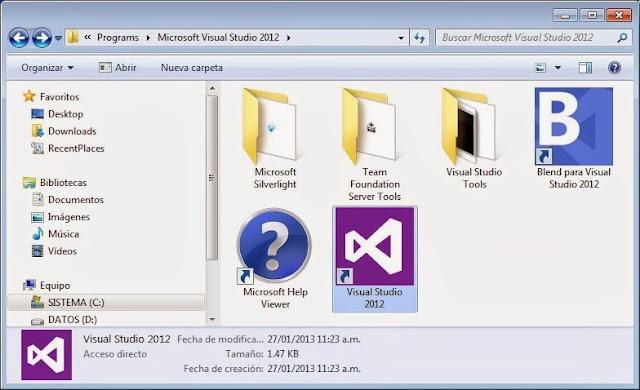 Primer Proyecto en Visual C#