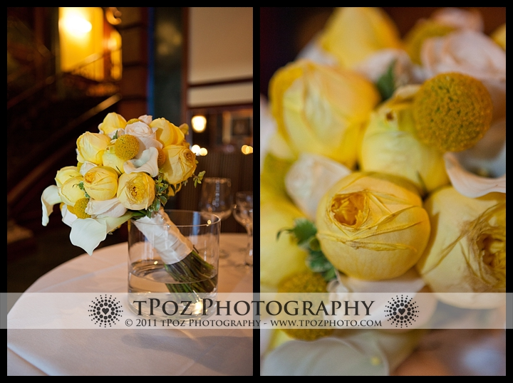 My Flower Box Events Yellow Wedding Bouquet