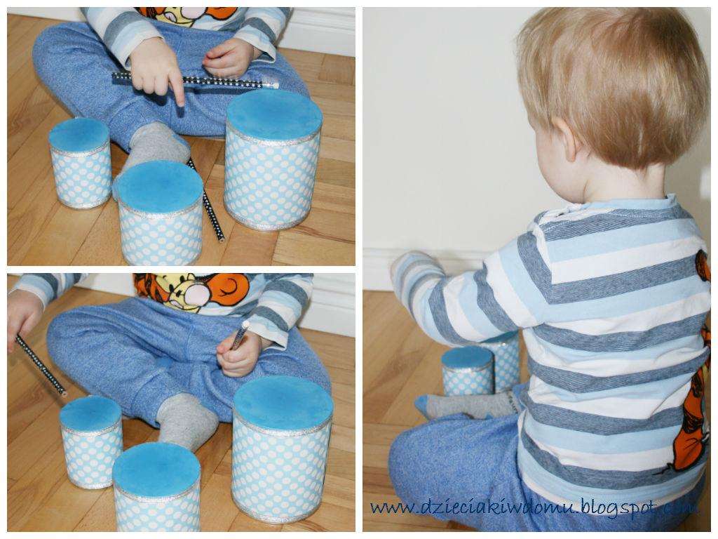 bębenki dla dzieci - kreatywny instrument