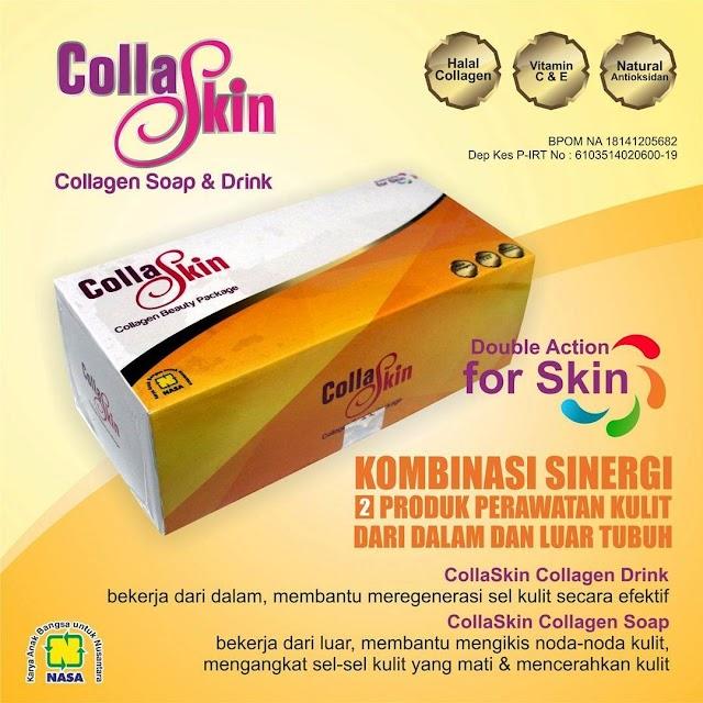COLLASKIN - Collagen Alami Untuk Mencerahkan Kulit Indahmu