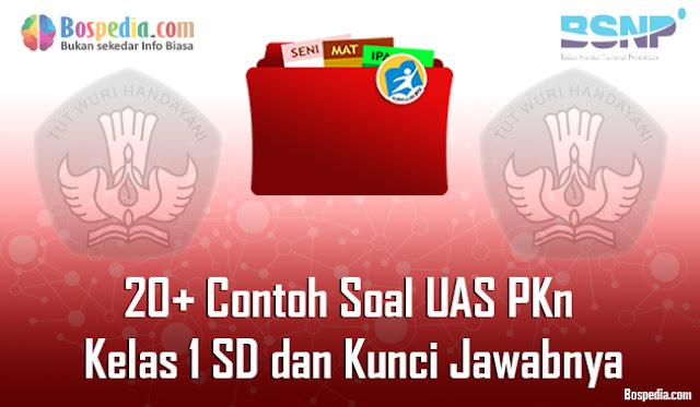 20+ Contoh Soal UAS PKn Kelas 1 SD dan Kunci Jawabnya Terbaru