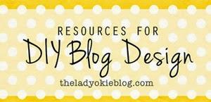 DIY blog design