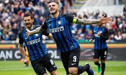 Inter Milan đang tạm thời vươn lên vị trí thứ 4 trên bảng xếp hạng giải đấu Serie A
