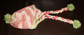 Original variation of the earflap hat with no model.
