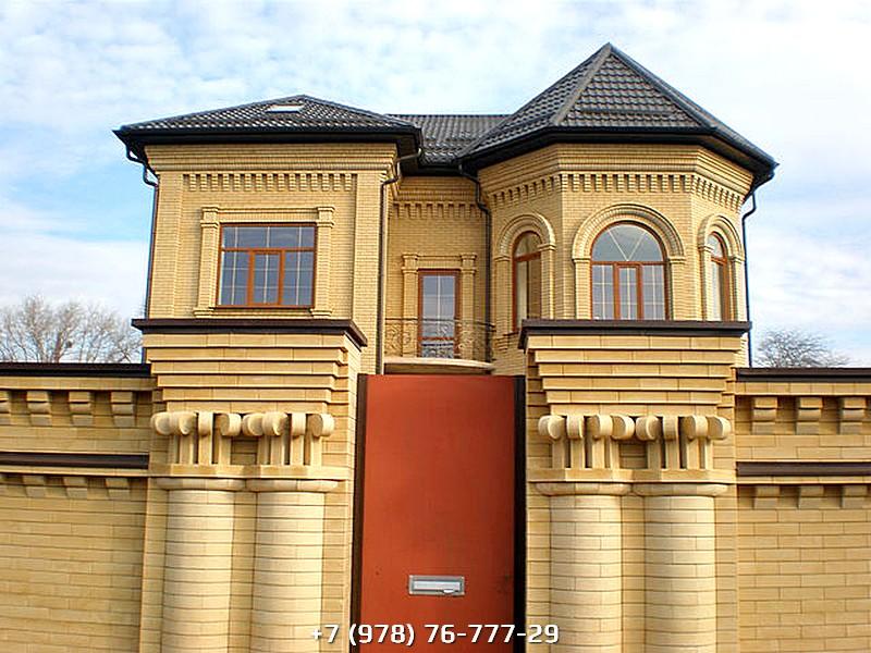 Строительство кирпичных домов проекты