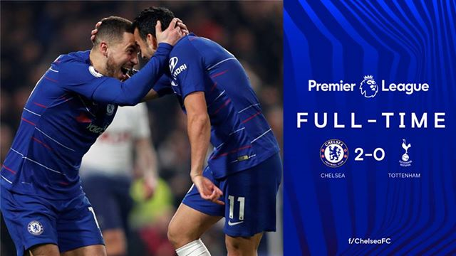 Football Highlights: Chelsea 2 - 0 Tottenham [English Premier League] Highlight 2018/2019