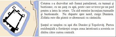 Schema Cetatea Vidin