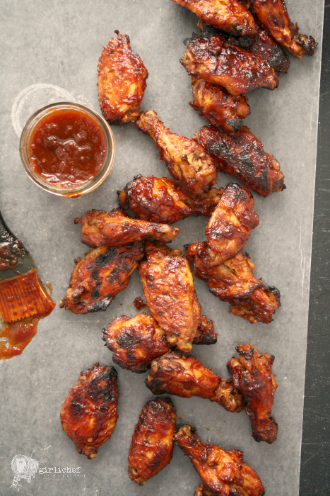 Slow Cooker Sweet 'n Tangy Glazed Chicken Wings