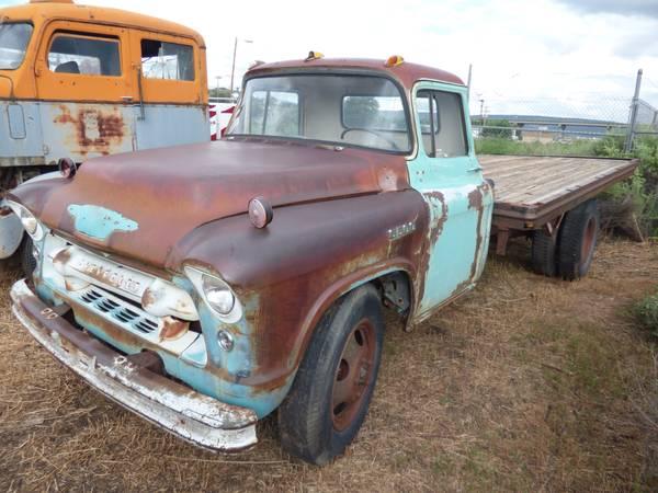 1955 Chevy 6500 Flatbed Truck | Auto Restorationice
