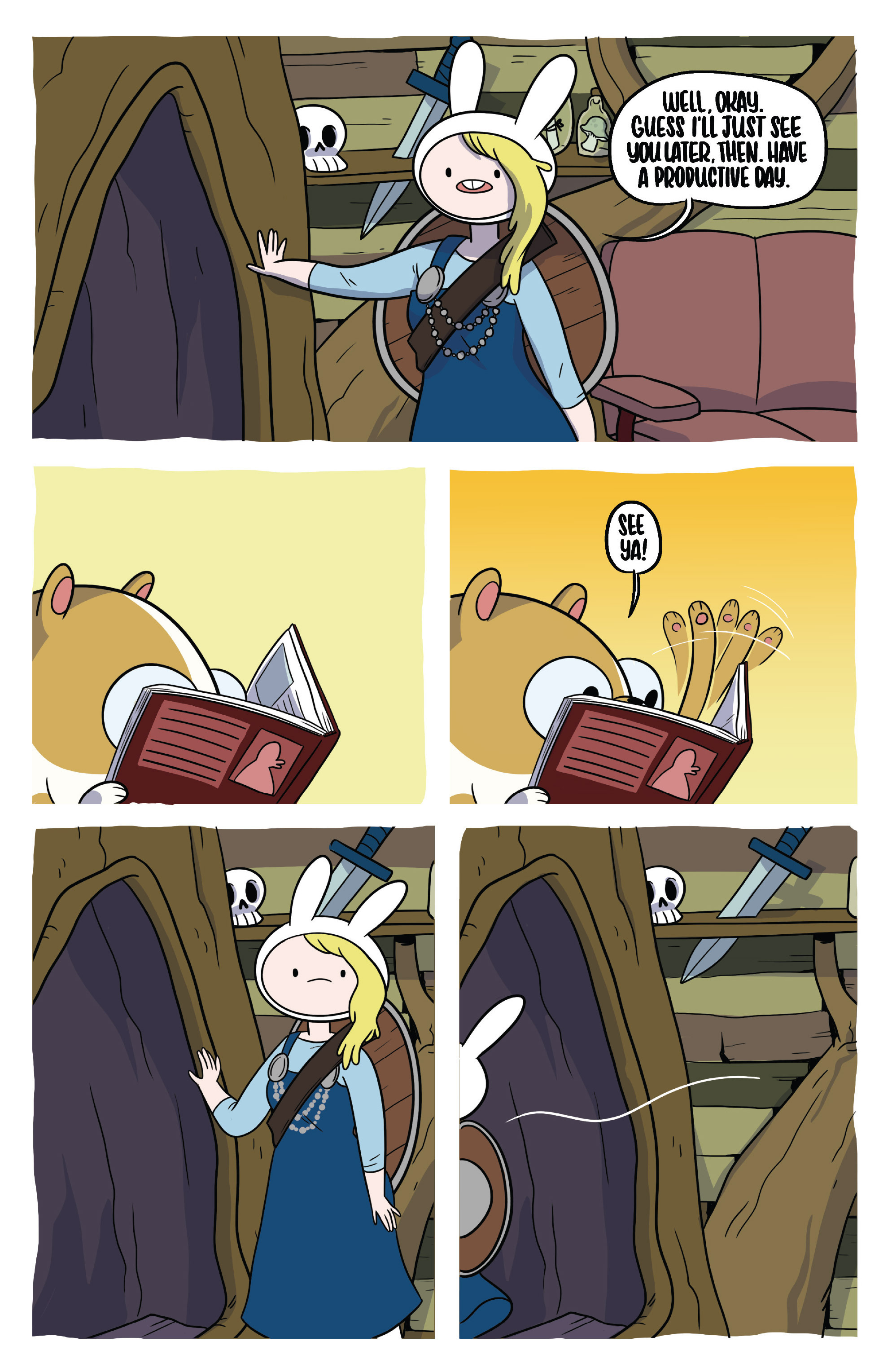 Read online Adventure Time Fionna and Cake Card Wars comic -  Issue #3 - 12