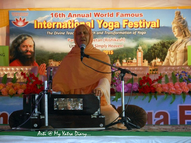 Divine Discourse, Radhanath Swami, International Yoga Day, Parmarth Niketan, Rishikesh
