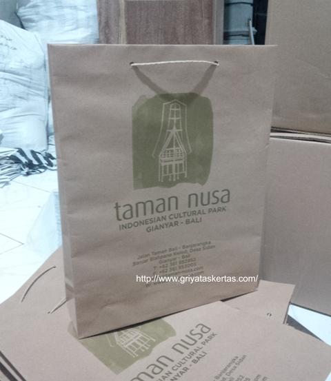 custom tas kertas gathering hotel