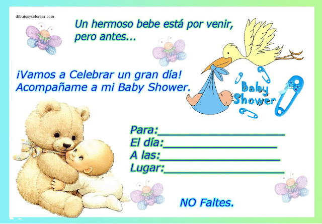 Invitaciones baby shower fotos ideas