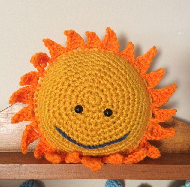 The Sun amigurumi pattern - Amigurumipatterns.net | 623x633