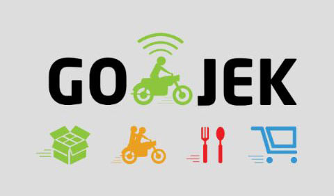Image result for gojek logo