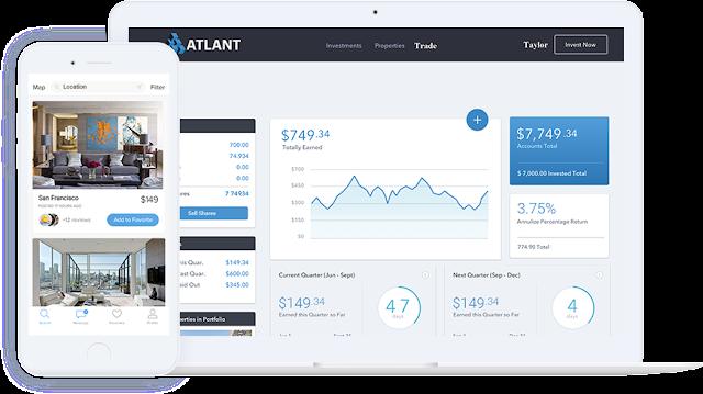 Platform ATLANT Blockchain Real Estate World