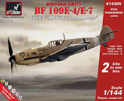 Bf 109E Set #3 - Mediterranean Aces picture 1