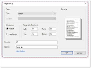 notepad-page-setup