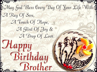 birthday wishes for brother images