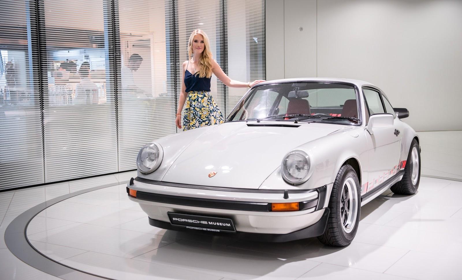 Porsche Museum silber Fifties 50s Midi Rock 911 Carrera GBN Trends