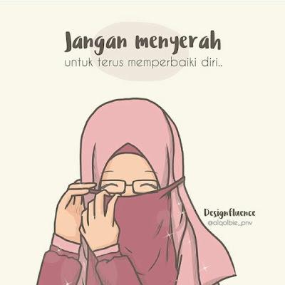 DP BBM Kata Bijak Wanita Muslimah Bercadar