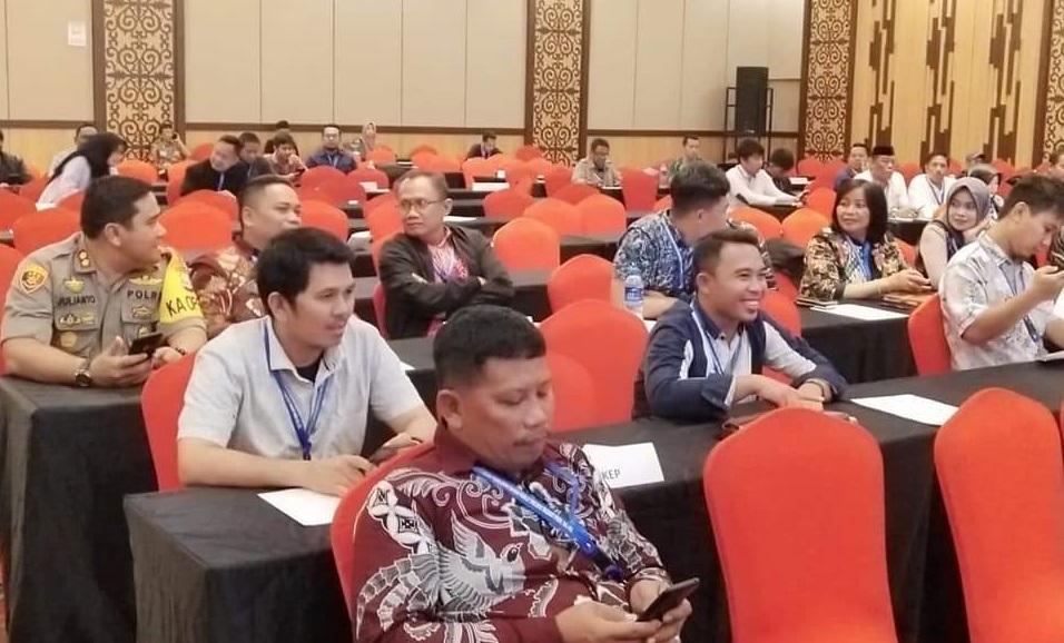 Kawal Rekap KPU Sampai Tingkat Provinsi, Kapolres Tana Toraja Beri Apresiasi Pada Penyelenggara