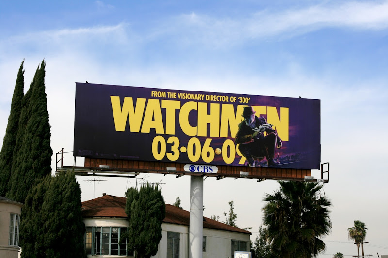 Watchmen Rorschach billboard