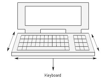 What are computer input devices?Explain its different types with