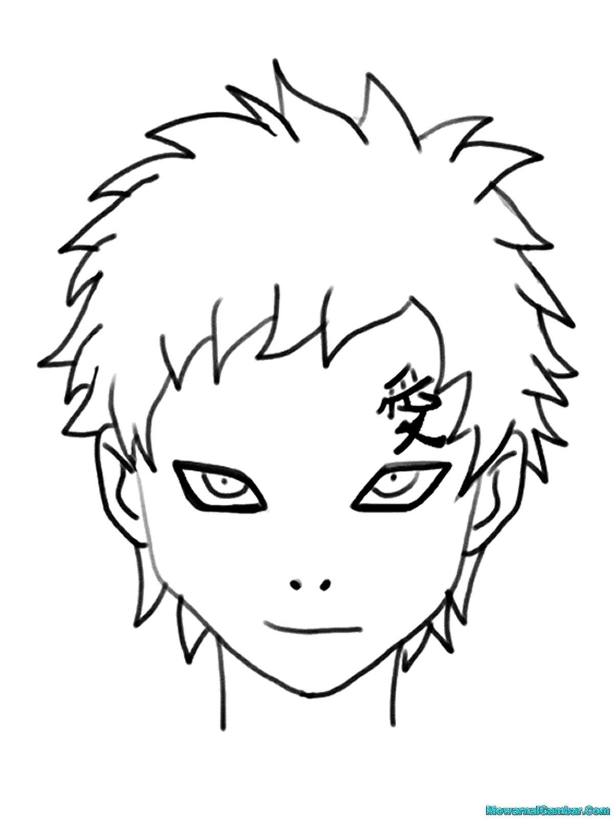 Mewarnai Musuh Musuh Naruto Mewarnai Gambar