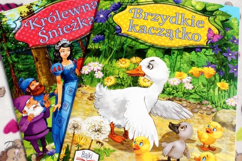 Królewna Śnieżka i Brzydkie kaczątko, czyli książeczki z serii Bajki czytajki - recenzja