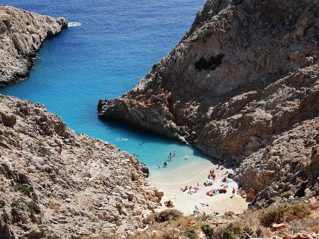 Porty Szatana Kreta jak wygląda zatoka