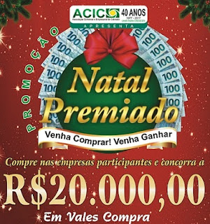 Promoção ACIC Colorado 2016 Natal Premiado