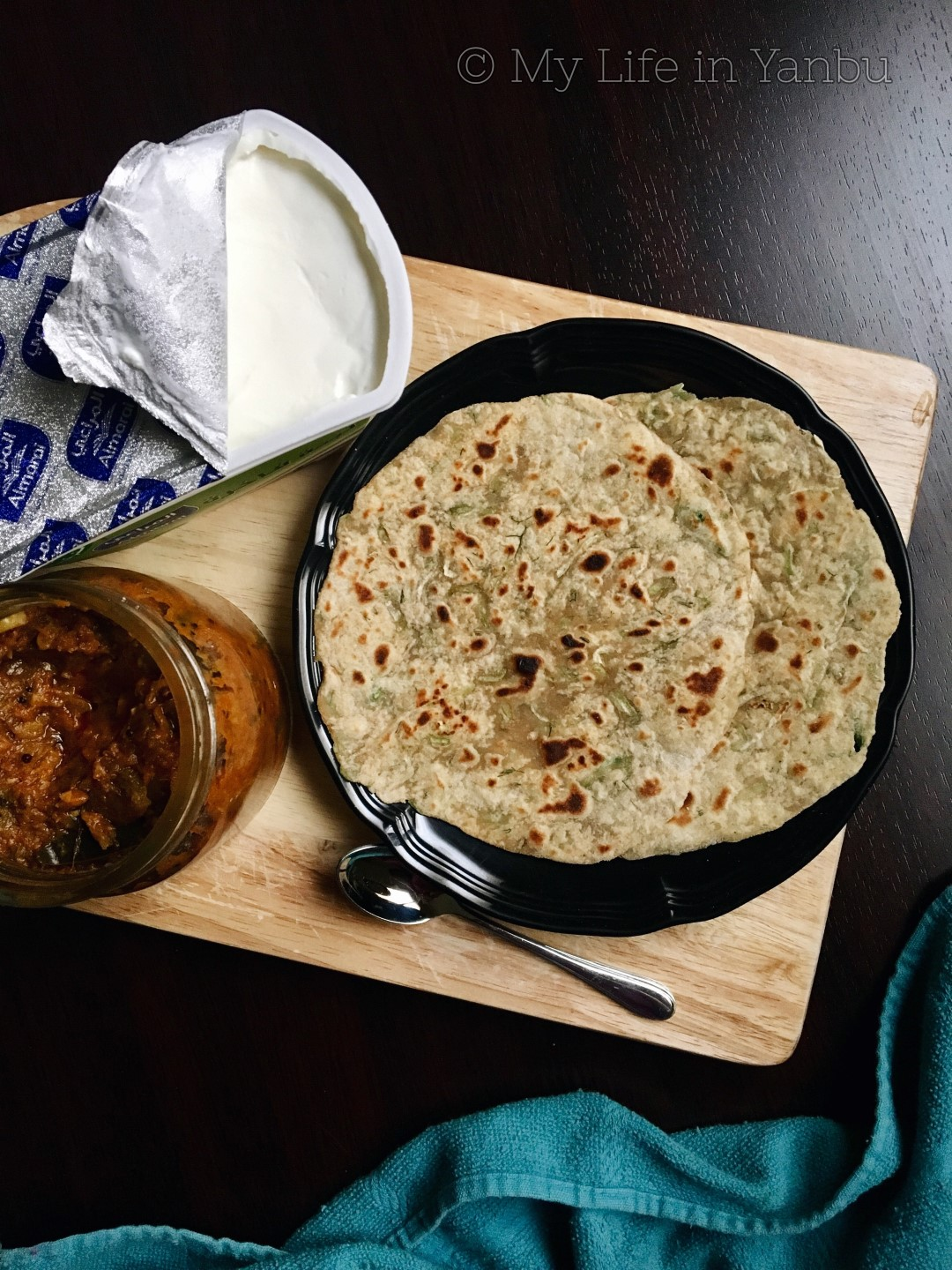 Bottle Gourd Dill Leaves Paratha