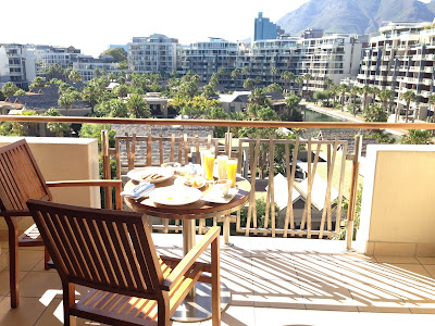 One&Only Hotel balcony view to Tafelberg