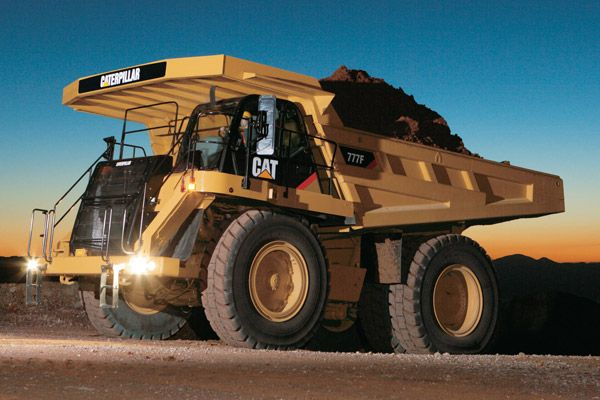 Gambar truk haul Caterpillar Cat 777