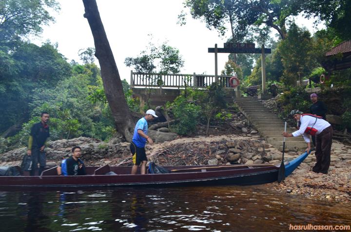 Lubuk Tenor, tempat santuari ikan kelah