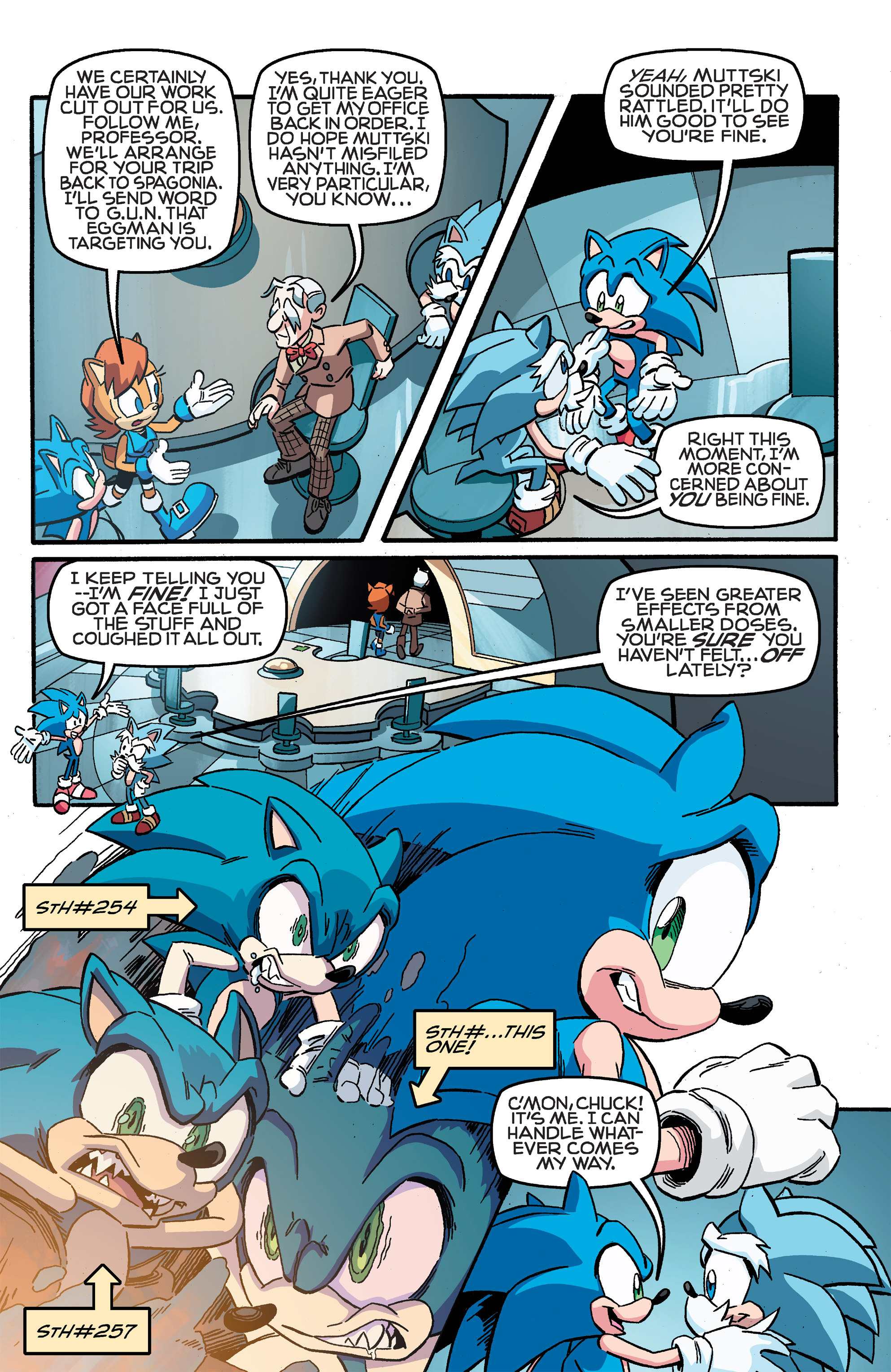 Read online Sonic The Hedgehog comic -  Issue #259 - 19