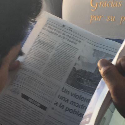 Bolivia. Periódico local de Potosí