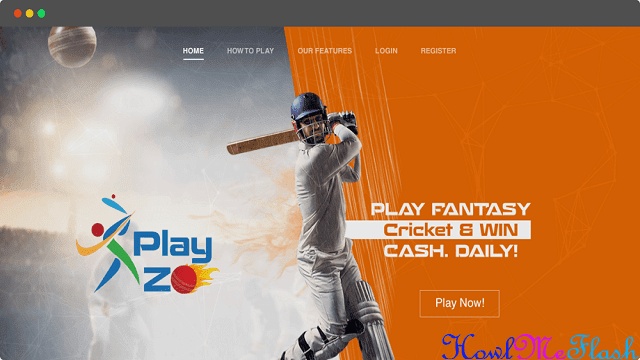 Playzo ~ Play Fantasy Cricket and Earn Real Money + Rs. 100 Sign up Bonus