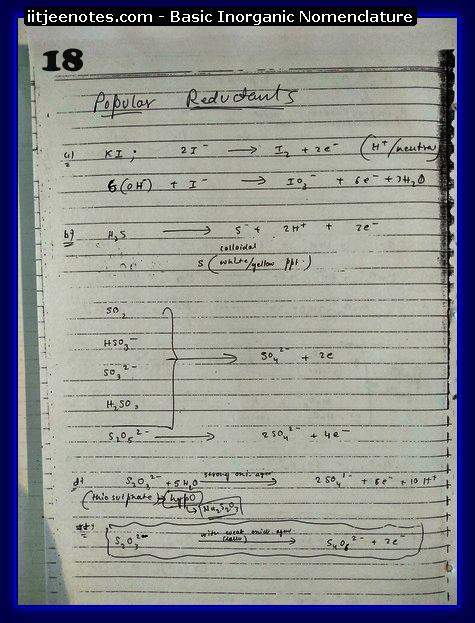 Inorganic Nomenclature Notes2