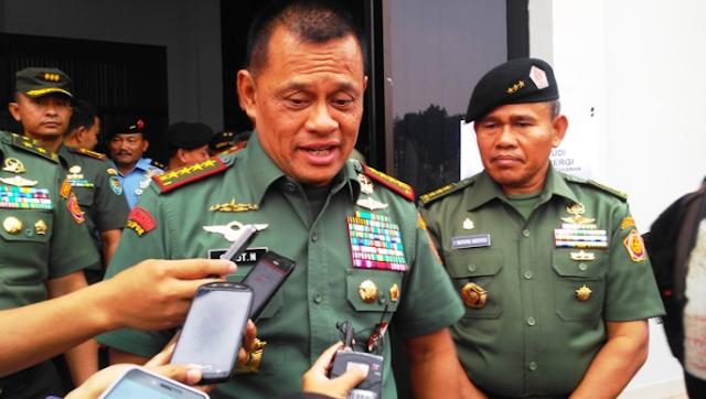Berikut Ini Isi Nota Diplomatik RI Setelah Jenderal Gatot Ditolak AS