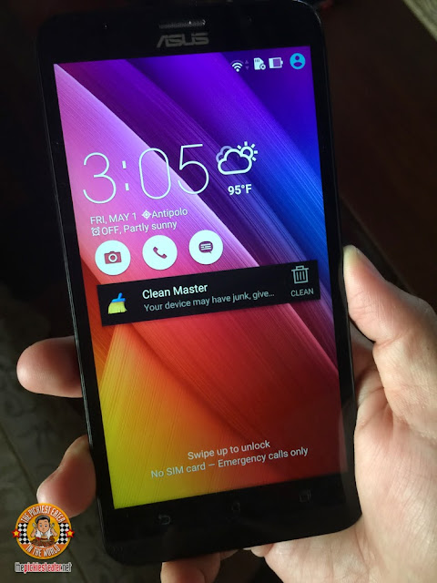 ASUS Zenfone 2 home screen