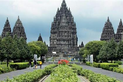 Harga Tiket Masuk & Lokasi Candi Prambanan, Situs Peninggalan Kebudayaan Agama Hindu