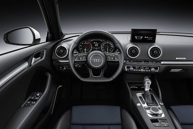 Novo Audi A3 Sedan 2017 - interior